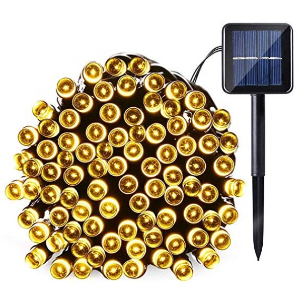 100LED Solar String Lights- Christmas garden Yard ...