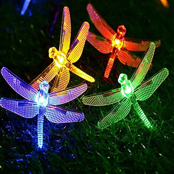 Solar String Light Waterproof Outdoor Fairy Lights...