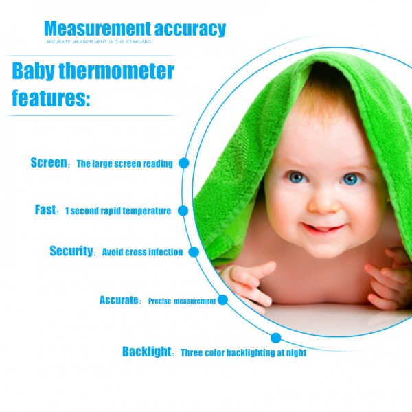 Baby Digital Thermometer Termometro Infravermelh For Body Medical Forehead Non-contact Diagnostic Tool Electronic Thermometer